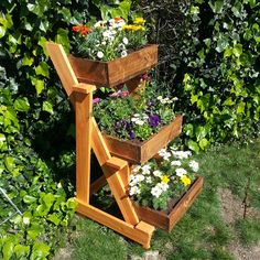 3-tier planter done! Limited tools project. Lumber cost about $20. Video and plans tomorrow!