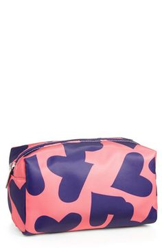 Steph Co Black Rose Large Cosmetics Bag Nordstrom Exclusive Available At Purses Bags Pinterest And