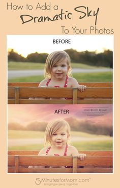How to Add a Dramatic Sky to Your Photos - Photoshop Tutorial.