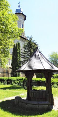 Dragomirna monastery is unique in Romania. It's the most beautiful I've seen so far and believe me I've seen many before. Romania, Gazebo, Fairy Tales, Most Beautiful, Outdoor Structures, Places, Travel, Kiosk, Viajes