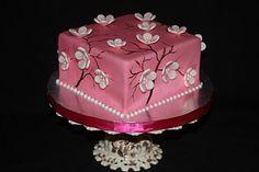 Cakes n Goodies: Cherry Blossom Cake
