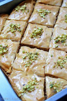baklava (step by step pictures)