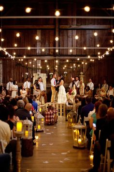 Barn Wedding in Washington