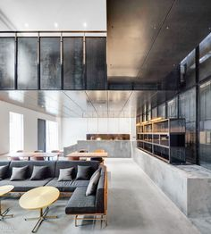 Garage–Beijing B+ Automobile Service Center by Neri & Hu Design and Research Office