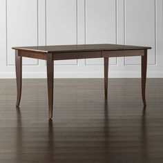 Cabria Honey Brown Extension Dining Table - Crate and Barrel
