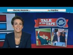"Rachel's ""Tale of the Tape"" on Bernie Sanders - YouTube #currentevents #rachelmaddow #presidentialrace"