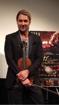 David Garrett, world class violinist from Germany