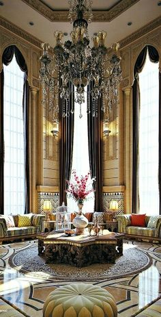 What A Beautiful Chandelier!   Modern Regal Interior ~Grand Mansions,  Castles, Dream Homes U0026 Luxury Homes ~Wealth And Luxury