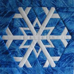 Snowflake 2 by canuckquilter | Quilting Pattern - Looking for your next project? You're going to love Snowflake 2 by designer canuckquilter. - via @Craftsy