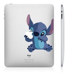 Lilo & Stitch iPad sticker iPad decals iPad skin by CooDesign, $8.50