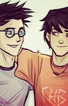 harry and percy meet!