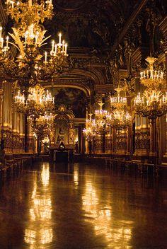 For your next Ball, Julie! Le Grand Foyer de l'Opéra Garnier | Flickr - Photo Sharing!