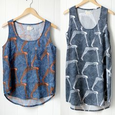Easy tank top. Maybe I'll make few in spring.
