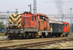 RailPictures.Net Photo: 520 Hungarian State Railways (MÁV) M44 at Békéscsaba, Hungary by Máté Szilveszter Hungary, Train, Trains, Strollers