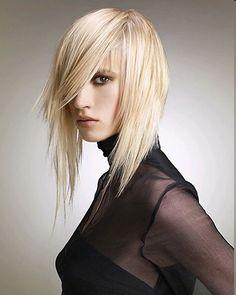 Choppy Layered Hair Style