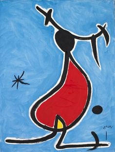 Joan Miro Paintings, Famous Art Paintings, Miro Artist, Picasso, Mosaic Garden Art, Spanish Painters, Kandinsky, Paint Designs, Art Lessons