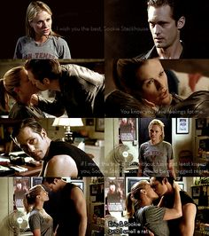 Eric & Sookie (True Blood - Season 3)  I smell a rat