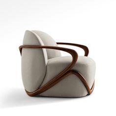 Plywood Furniture, Furniture Decor, Modern Furniture, Furniture Design, Poltrona Design, Take A Seat, Sofa Chair, Swivel Chair, Chair Cushions