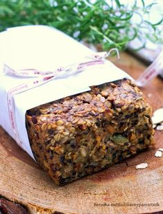 bread without flour, yeast and eggs Raw Food Recipes, Bon Appetit, I Foods, Banana Bread, Gluten Free, Vegetarian, Vegan, Cooking, Pizza