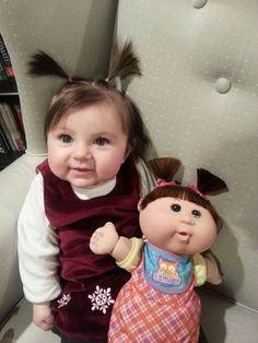Is it ok that: These Babies Look Exactly Like Their Dolls?