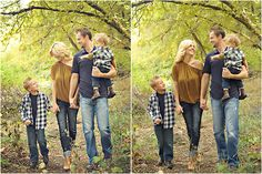 gold, navy and jean...this could L and I's fall pic colors!