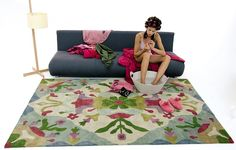 #excll #дизайнинтерьера #решения Авторские ковры от Nanimarquina   Excellence Group - решения