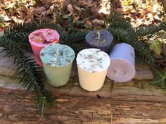 Set Of 4 Herbal Votive Reiki Charged Spell Candles For Love Money Protection Uncrossing Cleansing Wiccan Pagan Witch Magic
