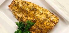 Filete de pescado al horno con mostaza   Recetas fáciles