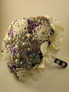 Brooch Bridal Bouquet Deposit by BroochesnBloom on Etsy, $275.00