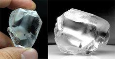 diamant brut 198 cts Letseng mine Gem Diamonds