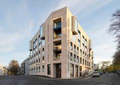P77-79 — Reiulf Ramstad Arkitekter Residential Complex, Residential Architecture, Contemporary Architecture, Building Architecture, Commercial Architecture, Classical Architecture, Building Design, Oslo, Front Gardens