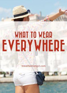 What to Wear Around the World (region specific tips!)