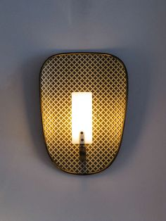 French Perforated Wall Lights For Sale 4