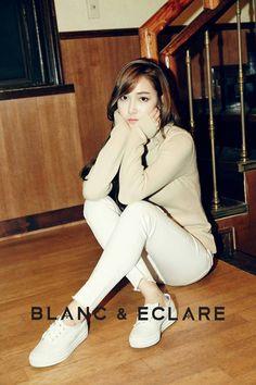 Jessica Jung for Blanc & Eclare Jessica & Krystal, Krystal Jung, Girls Generation, Blanc And Eclare, Jessica Jung Fashion, Fashion Line, Fashion 2015, Fashion Shoot, Korean Celebrities