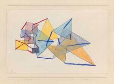 Paul Klee 'Tension d'Angles en deux Groupes' 1930