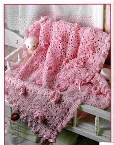 Hey, I found this really awesome Etsy listing at https://www.etsy.com/listing/179052015/afghan-crochet-pattern-pink-roses