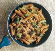 Penne con Broccoli e Salmone - Ricetta