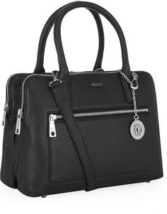 c136caf4f3ceb Dkny Tribeca Double Zip Satchel in Black