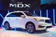 Acura MDX suv at trhe New York Motor Show 2016