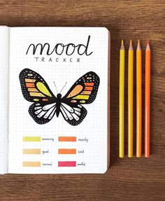 A mood tracker is a tool that can help you define and work on your emotions. Learn here about benefits of mood tracking and get tons of Bullet Journal mood tracker inspirations. Bullet Journal Tracker, Bullet Journal Paper, April Bullet Journal, Creating A Bullet Journal, Bullet Journal Cover Ideas, Bullet Journal Lettering Ideas, Bullet Journal Notebook, Bullet Journal Aesthetic, Bullet Journal School