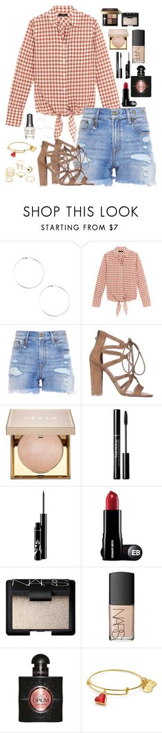"""""""Vuelve Locos A Los Demás"""" by macapaz ❤ liked on Polyvore featuring J.Crew, R13, Bobbi Brown Cosmetics, Stila, NARS Cosmetics, Yves Saint Laurent, Morgan Taylor and Charlotte Russe"""
