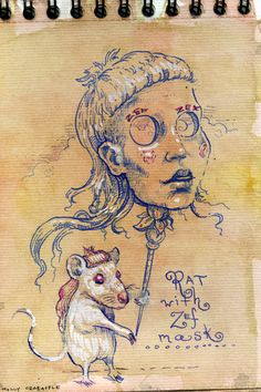 Molly Crabapple - my new obsession