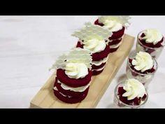 Crema de queso / Red velvet - YouTube Cake Shop, Dory, Cake Designs, Red Velvet, Frosting, Yogurt, Fondant, Cheesecake, Cupcakes