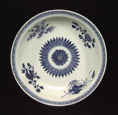 FINE CHIEN LUNG BLUE AND WHITE BOWL, 1736-1795. The finely fired bowl with floral pattern and seal on bottom. 7.8 inches. Provenance: Purchased by the current owner from a large Mid Western collection in the 1990's, previously from a West Coast dealer in Asian art.