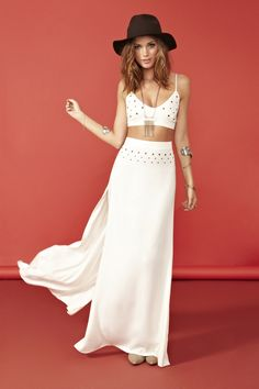 Cash Maxi Skirt & Chevy Bra