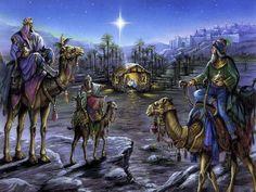 christmas 3 kings | Three kings in arabia Wallpaper
