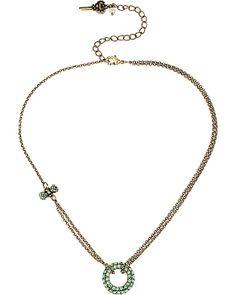 MINT CIRCLE PENDANT MINT accessories jewelry necklaces fashion