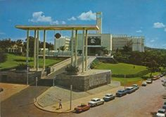 Parliament Building, Kampala East Africa, Old City, Postcards, Memories, History, Building, Places, Pictures, Vintage