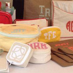 cute monogrammed bags