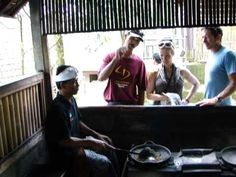 Here we are visiting a coffee plantation in Bali and watching the roasting process. Love seeing the process with my own eyes! Way better than going to Starbucks  Bali & Beyond's Travel Guide: https://baliandbeyondstravelguide.wordpress.com/